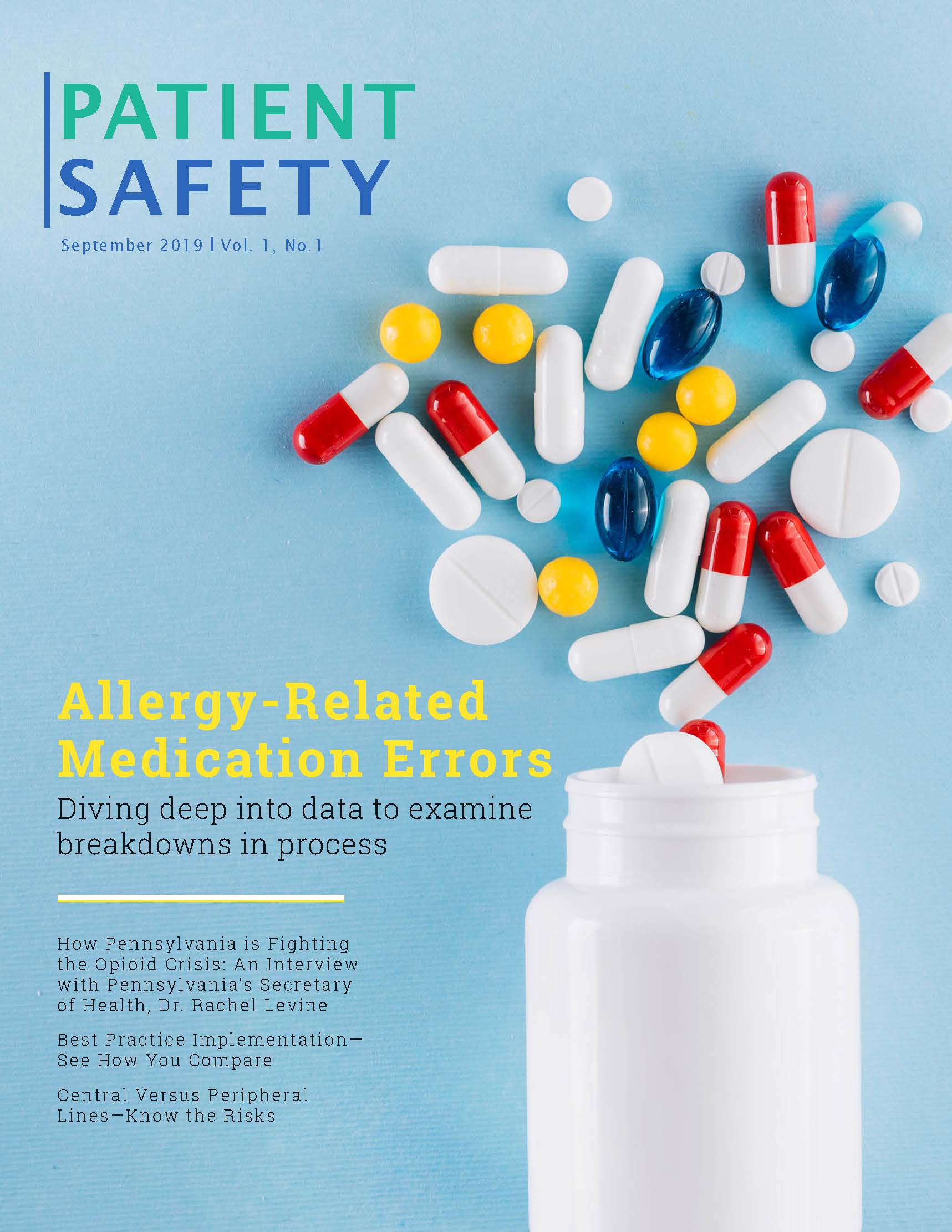 Patient Safety pills/medication cover story